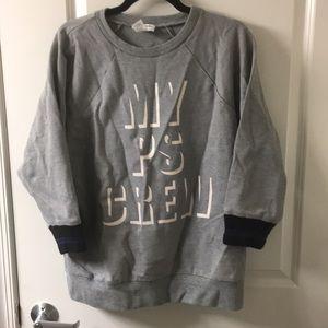 Jcrew x Public School sweatshirt.